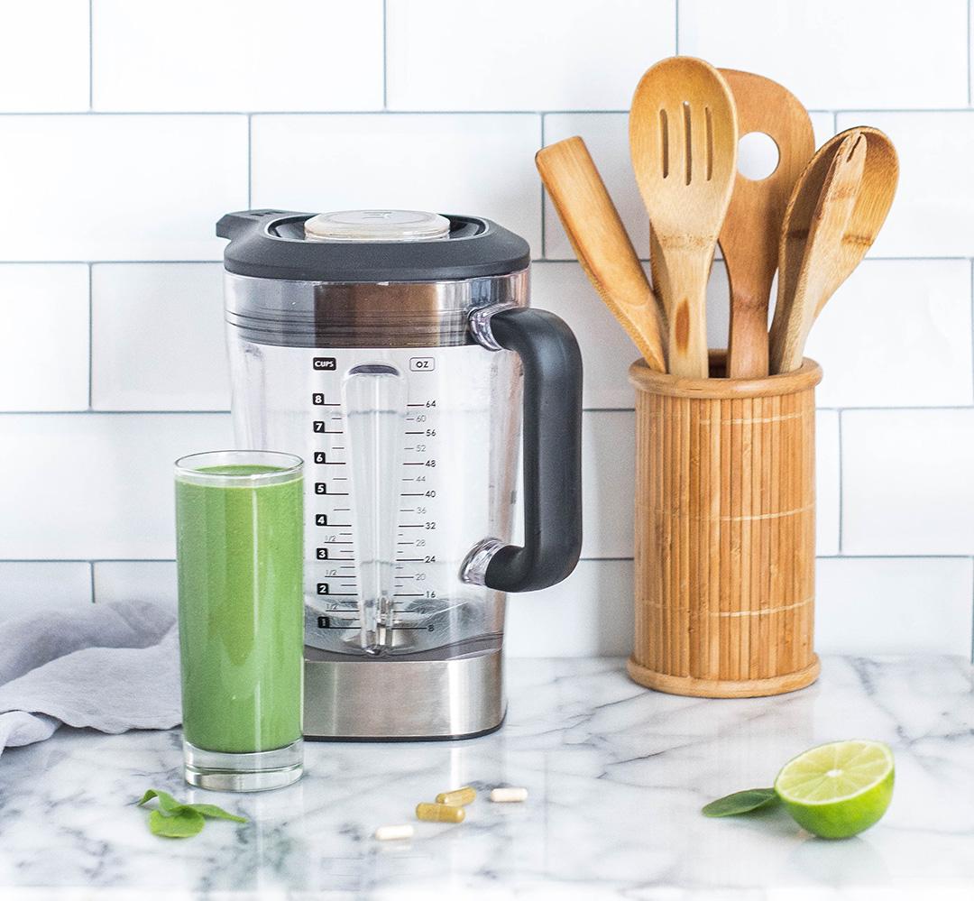 Grüner Smoothie Zubereitung