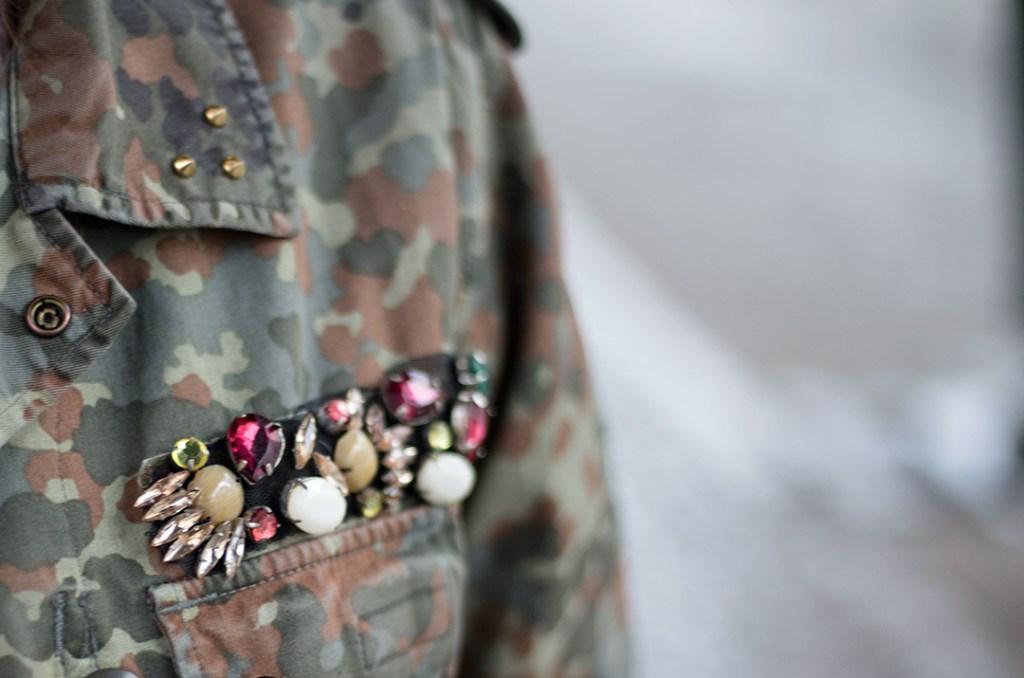 Military jacket Upcycling - Gestalte dir dein eigenes It-Piece