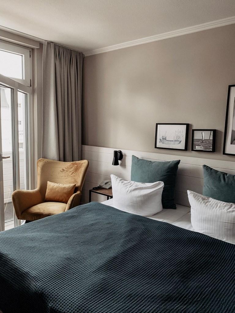 Hotelschlafzimmer Heimathafen