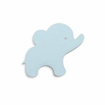 Elephant hook in mint blue - Thatsmine