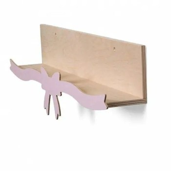 How bout a bow bookshelf in rose - ThatsMine
