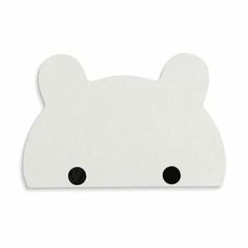 Kukkuk bear hook, white - Thatsmine