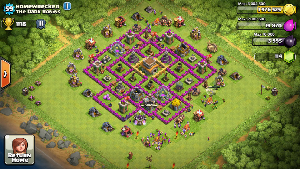 Top 10 Clash Of Clans Town Hall Level 8 Defense Base Design