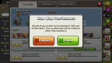 Clash of Clans - Clan War opt in  War opt out - Thats My Top 10