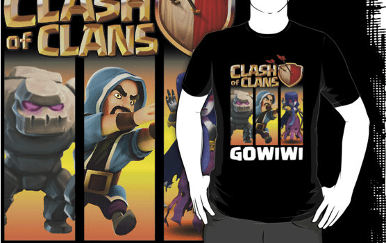 GOWIWI - Top 10 Clash of Clans T Shirts