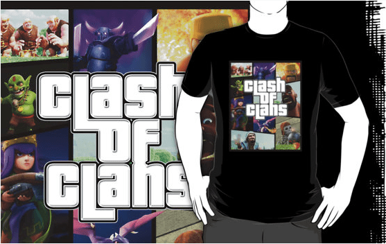 GTA Style - Top 10 Clash of Clans T Shirt