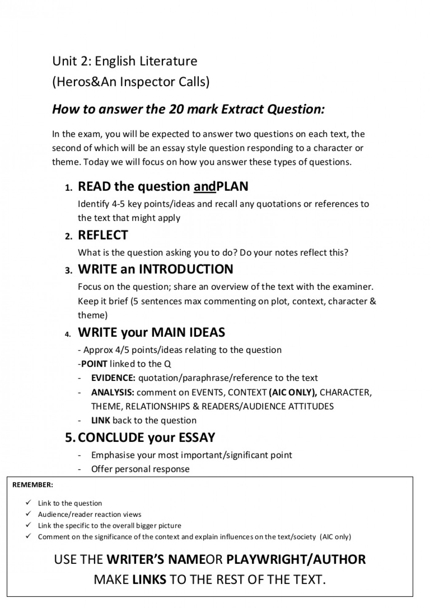 004 Question And Answer Essay Format Business Management