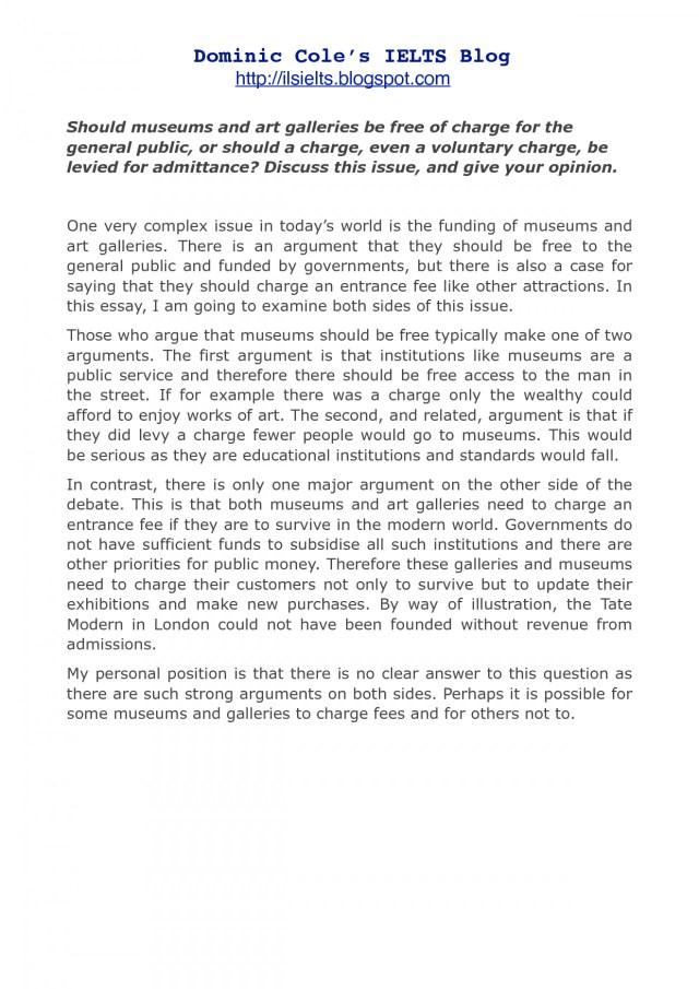 ielts essay writing examples pdf
