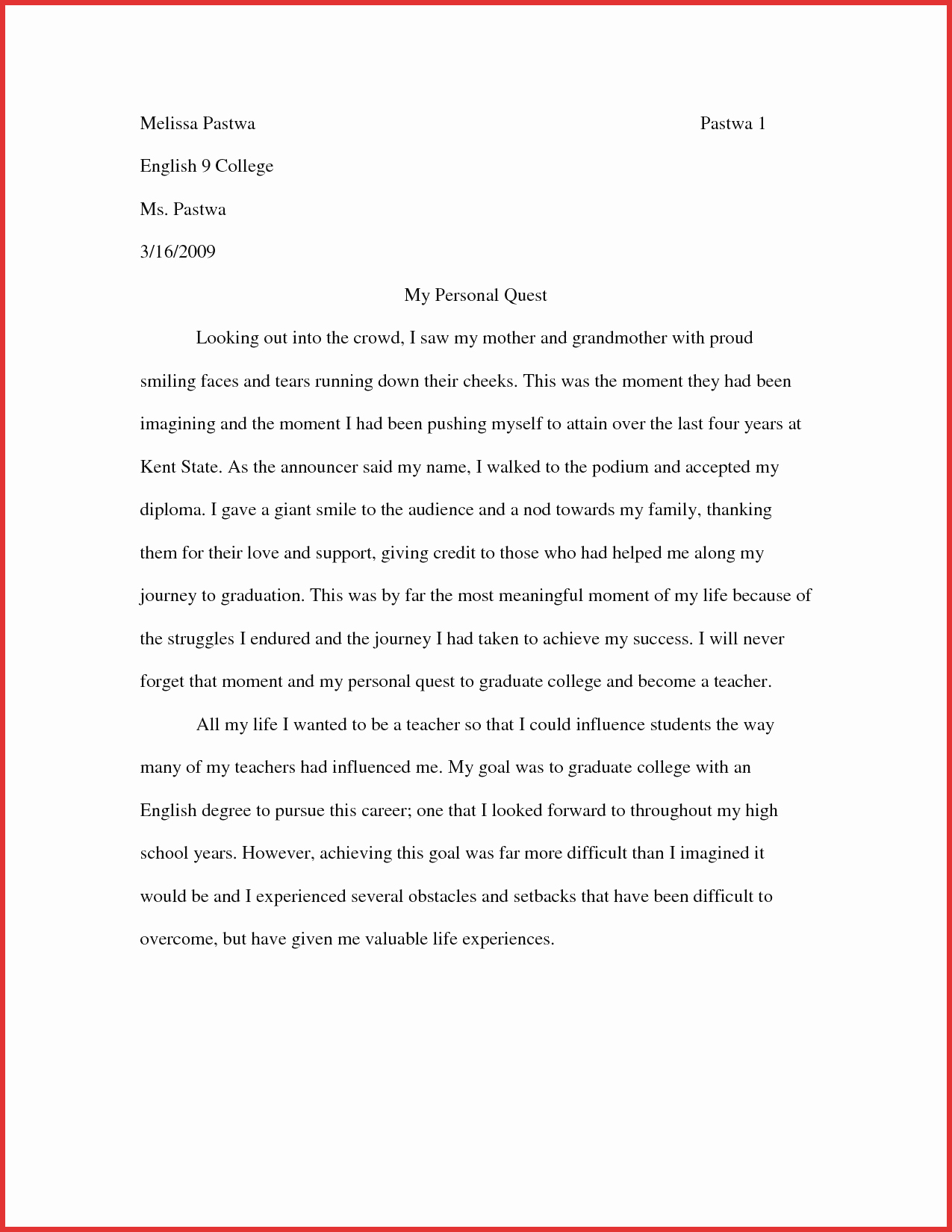 010 How To Write Creativeay Report Example Sample College