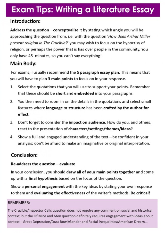 Essay With Thesis  Essay Examples For High School also The Importance Of English Essay Literature Essay Introduction Example  Applydocoumentco Health Essay Writing
