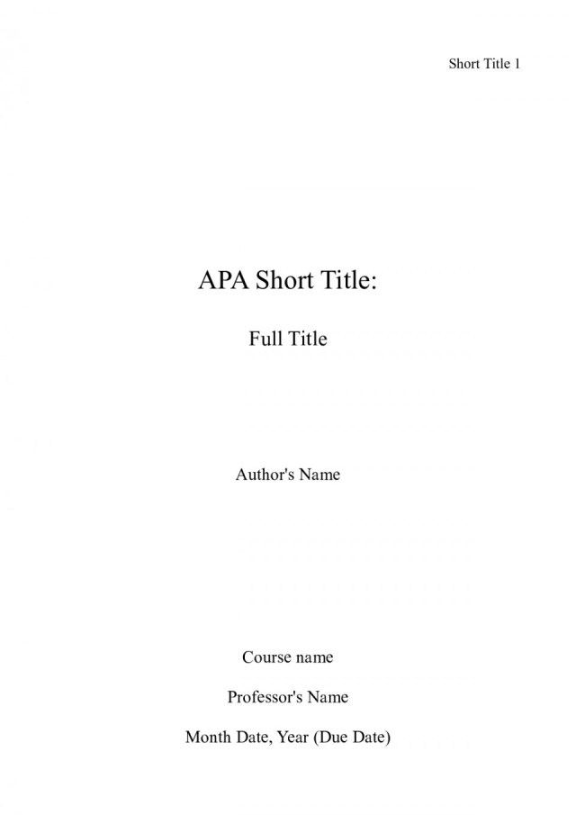 Apa cover letter examples October 14
