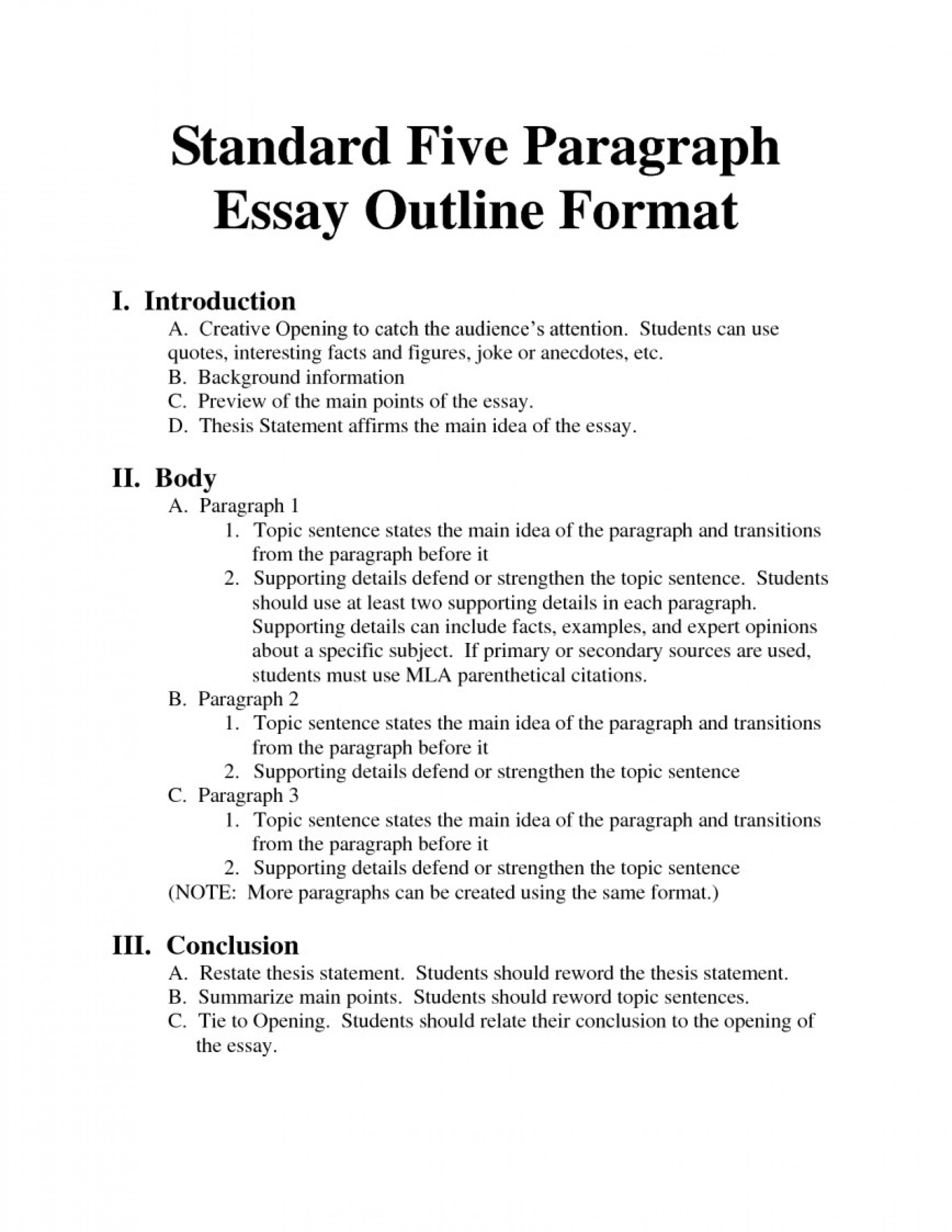 006 Essay Example Point Thesis Examples Statement