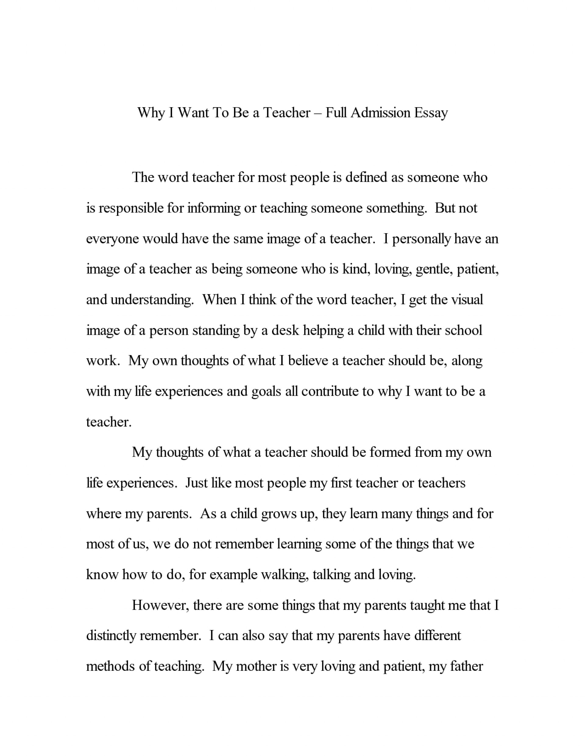 Scholarship Essay Examples About Career Goals