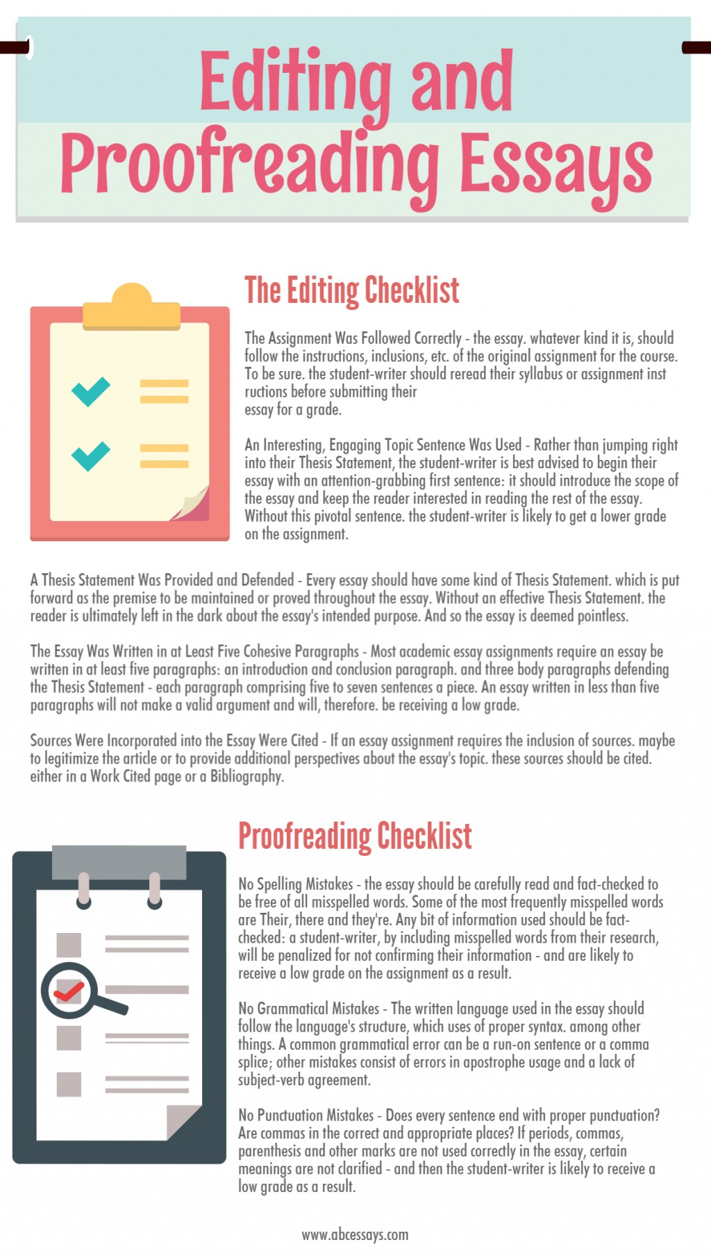 023 Essay Example Proofreading Marks Worksheet Chart