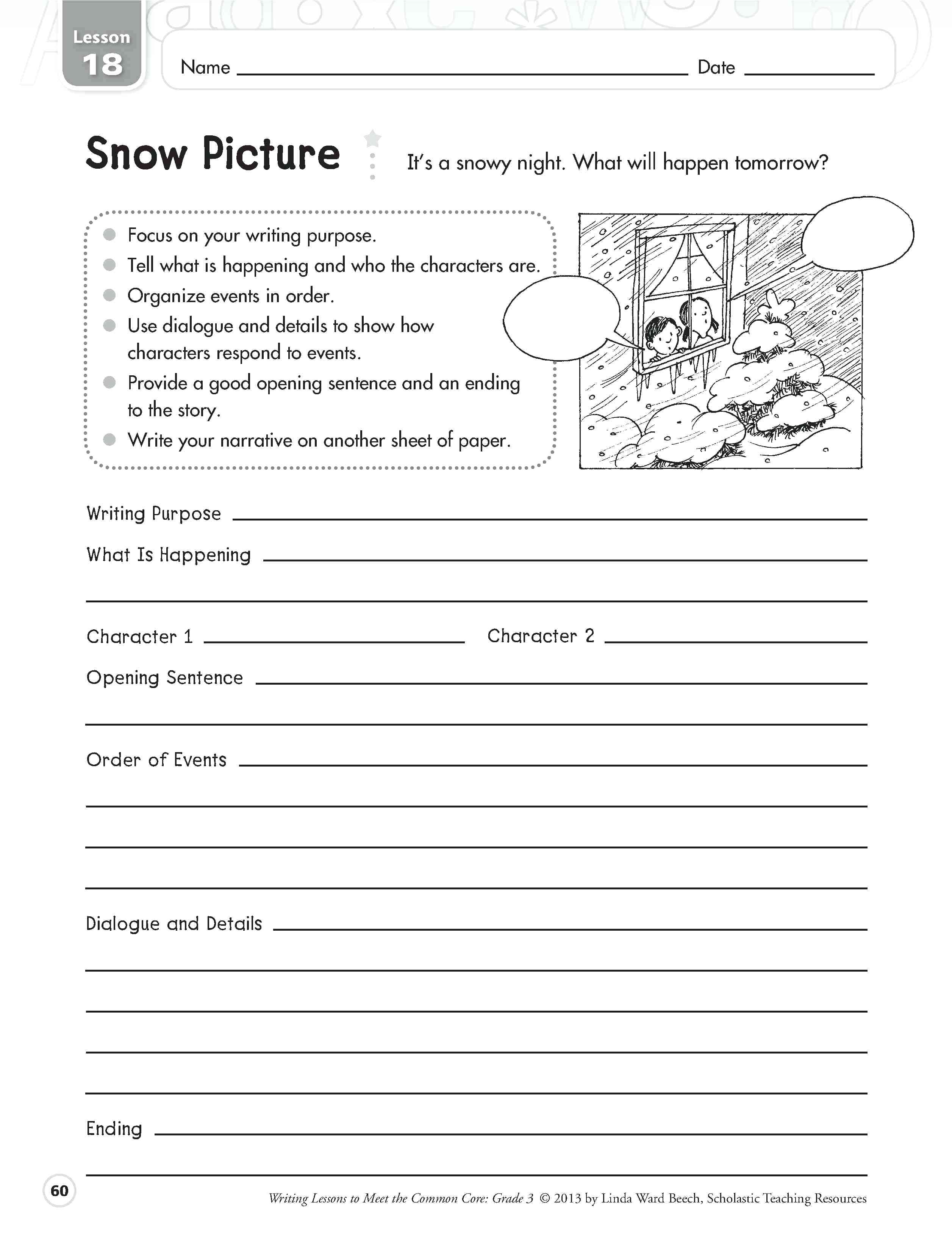 Grade 2 Language Arts Worksheets