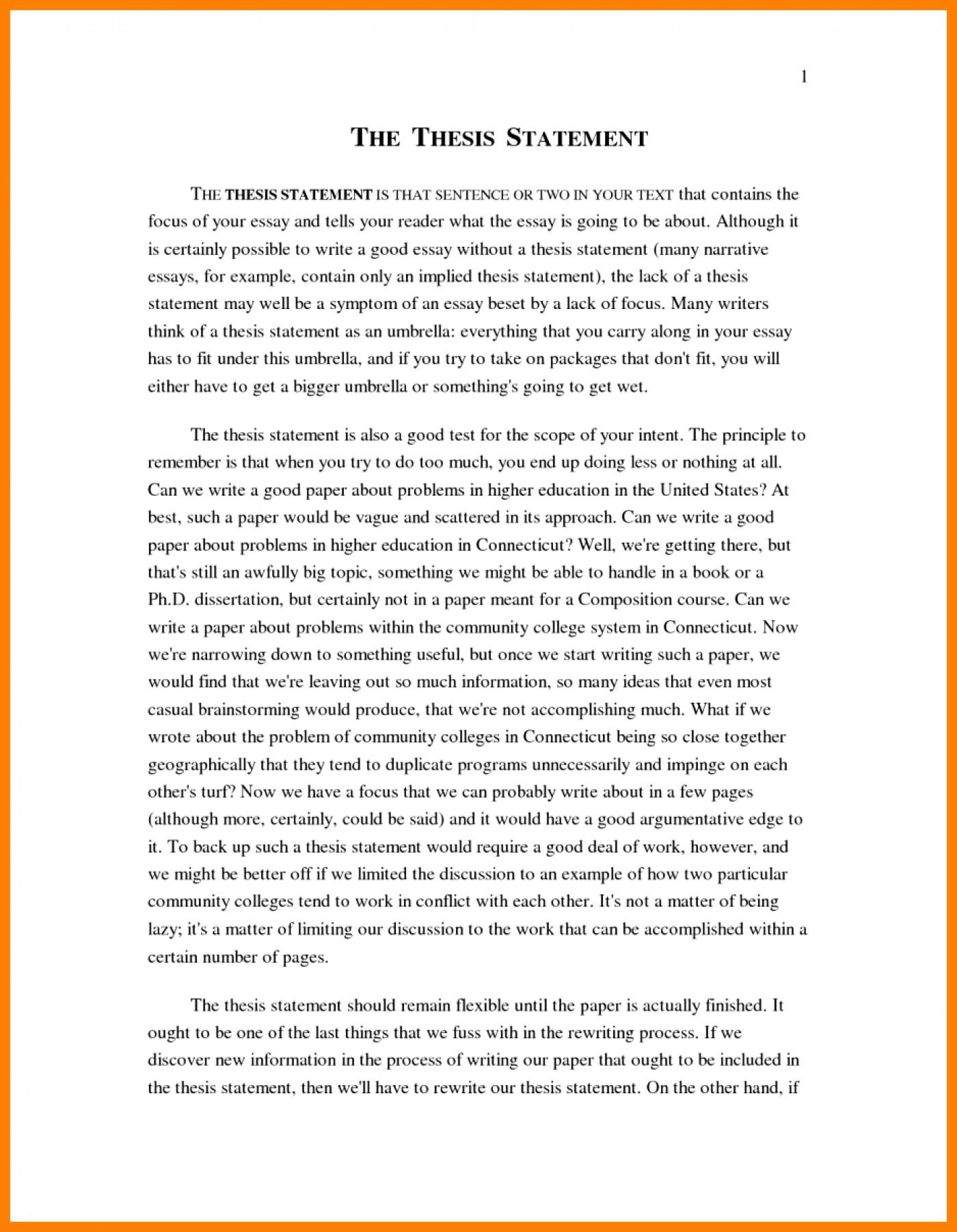 005 Narrative Essay Examples High School Example Essays
