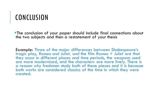 Hamlet Essay Thesis  My First Day Of High School Essay also Sample Argumentative Essay High School An Essay Conclusion Example  Applydocoumentco Thesis Statement For Analytical Essay