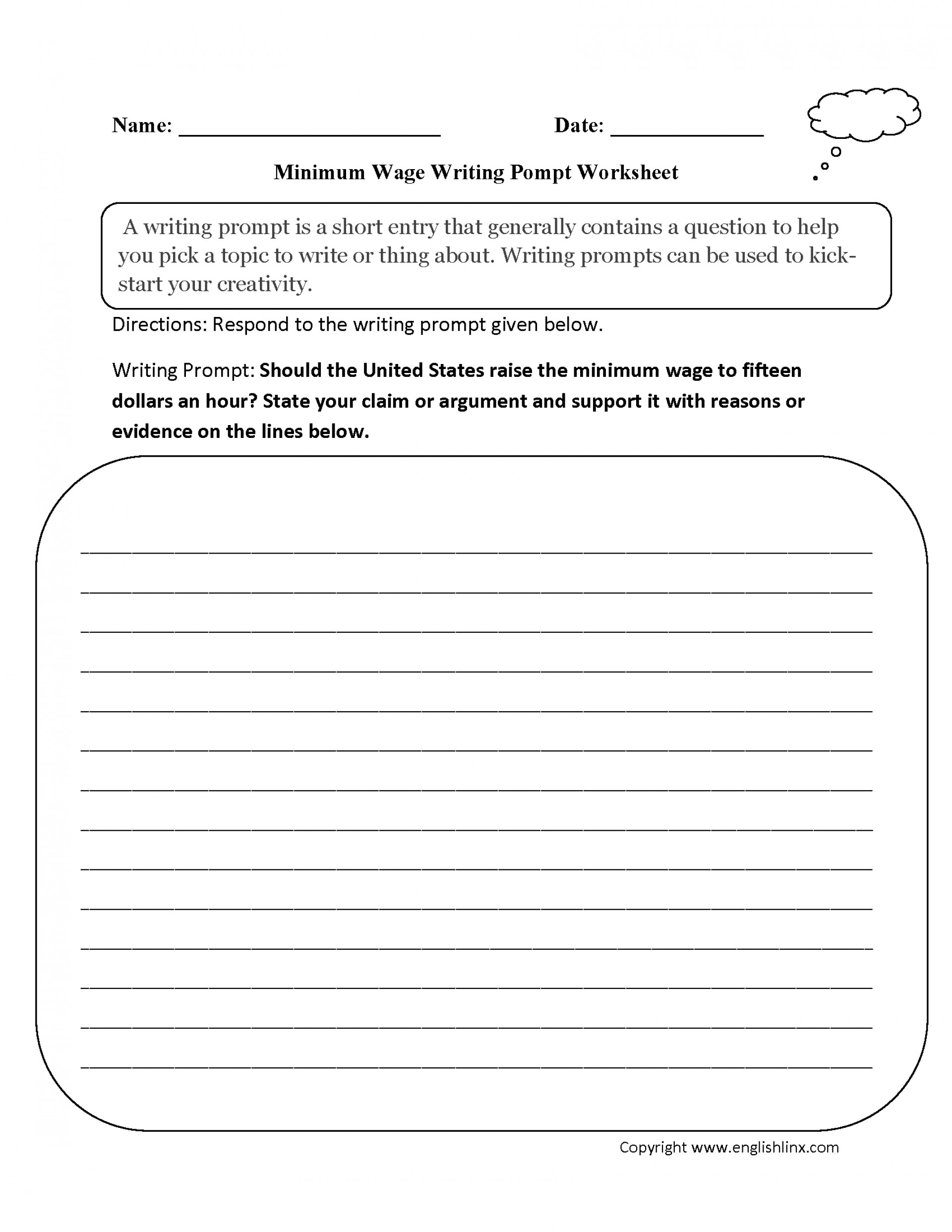 Astounding Essay Writing Worksheets Thatsnotus