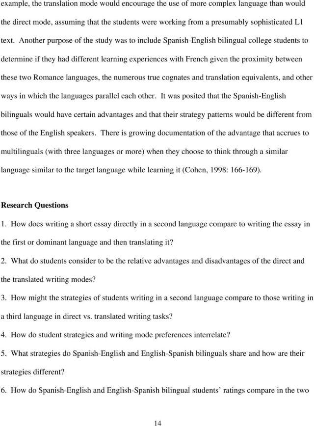 essay doc english essay english writing task noviyana shiali with  essay english to spanish applydocoumentco essay example what is in spanish  direct vs translated writing high