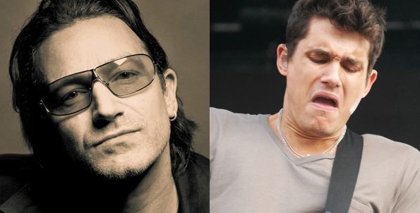 U2 vs. John Mayer