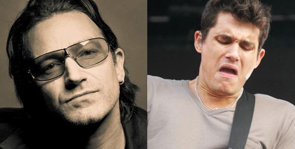 U2 vs. John Mayer