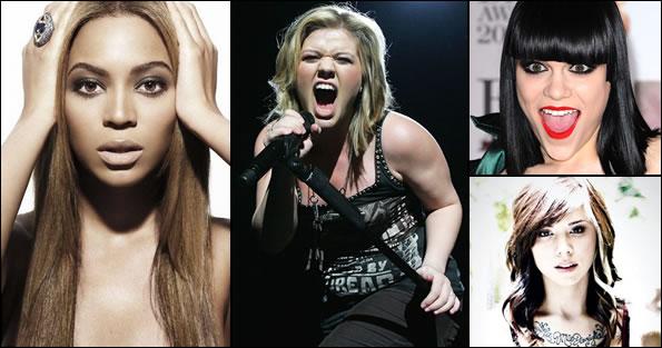 Kelly Clarkson vs. Beyoncé vs. Christina Perri vs. Jessie J on ThatSongSoundsLike.com