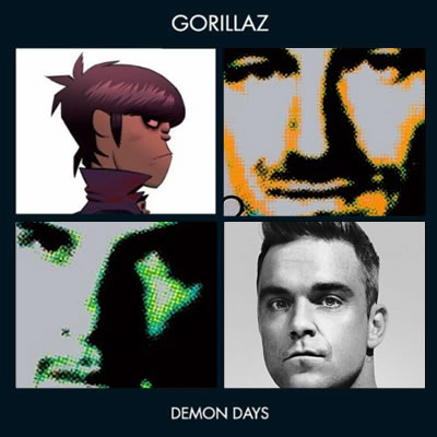 U2 vs. Gorillaz vs. Take That on ThatSongSoundsLike.com