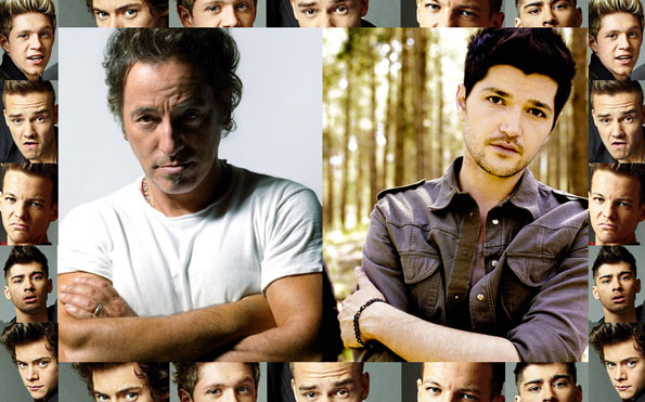 One Direction vs. The Sscript vs. Bruce Springsteen
