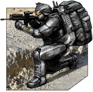 Future army body armour