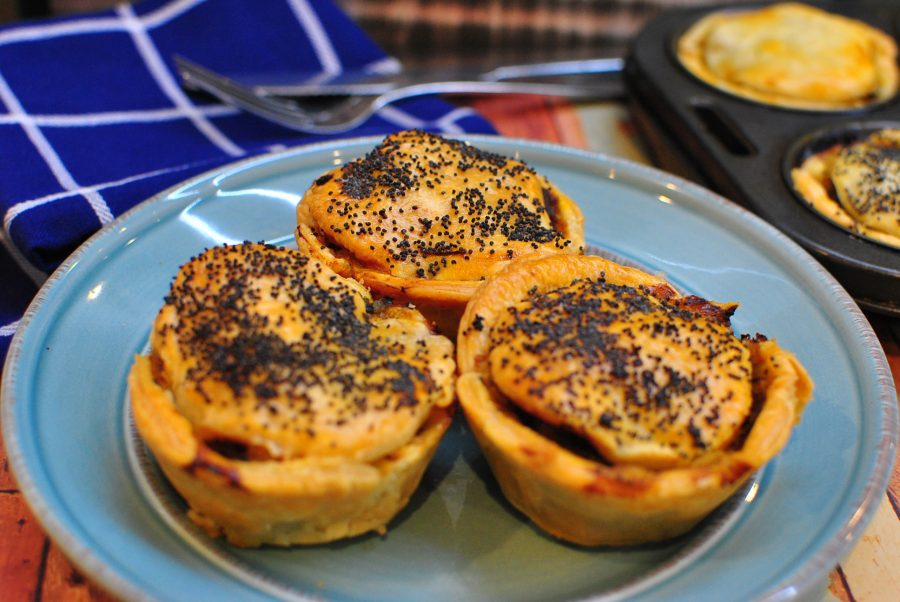Beef Curry Pies