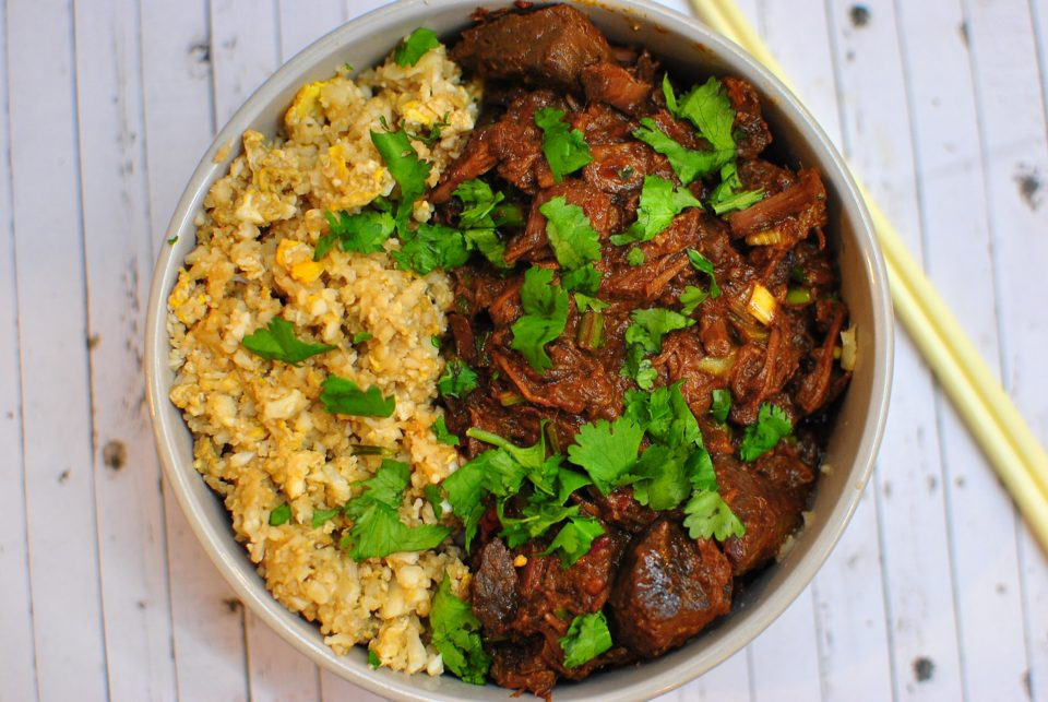 Slow Cooker Black Bean Chilli Beef