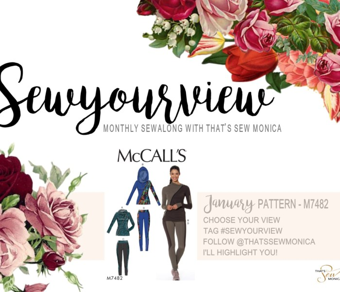January Sew Your View