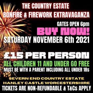 Worcestershire Bonfire Extravaganza 2021