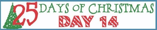 25 Days of Christmas Banner day 14