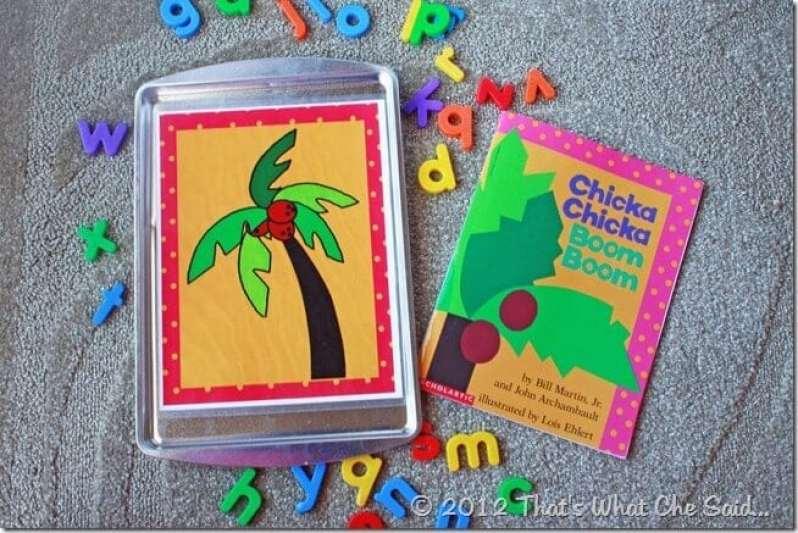 Chicka Chicka Boom Boom Kid's Activity