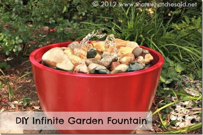 DIY Infinite Garden Fountain 1