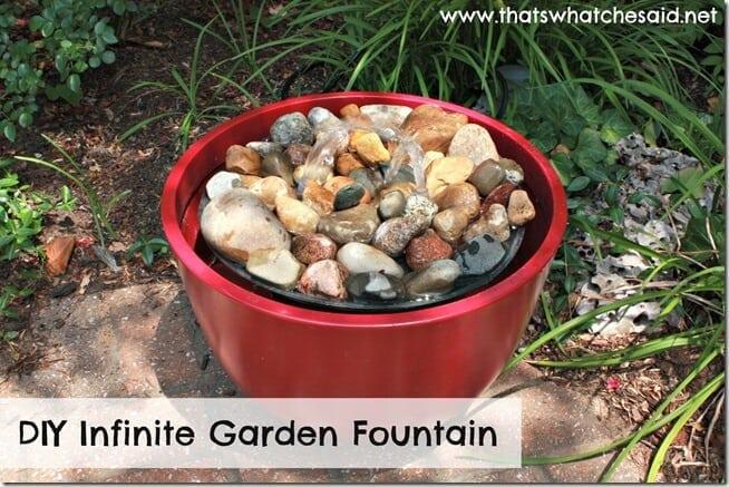 DIY Infinite Garden Fountain