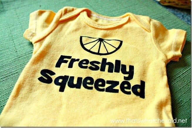Freshly Squeezed Newborn Onesie