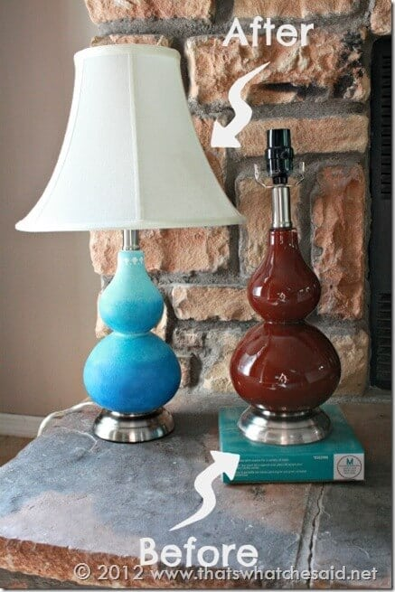 Lamp Before & After