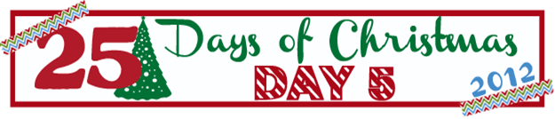 25 Days of Christmas Banner Day 5