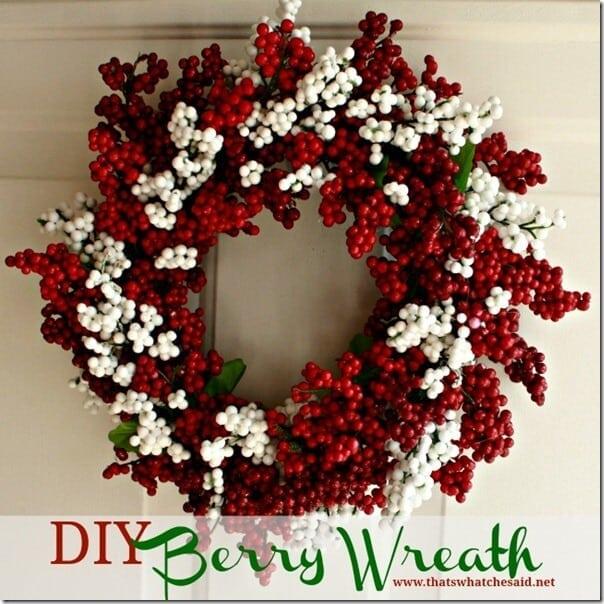 DIY Berry Wreath