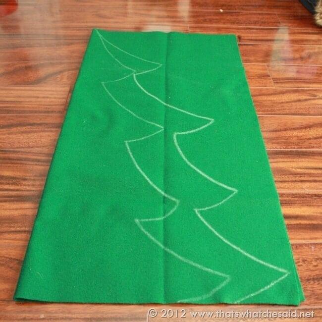 Childrens Felt Christmas Tree Thats What Che Said