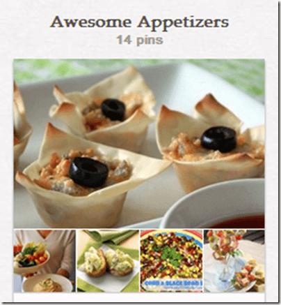 Appetizer Pinterest