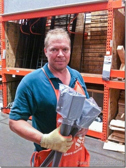 Vance at the Home Depot DigIn