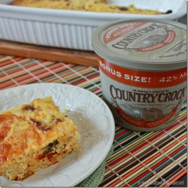 Breakfast Casserole with Country Crock