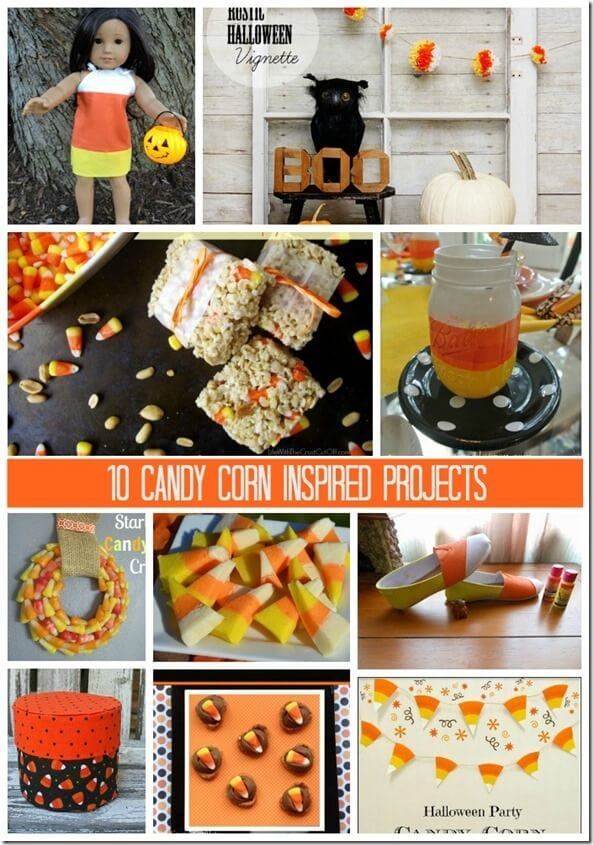 10 Candy Corn Inspired Projects Monday Funday