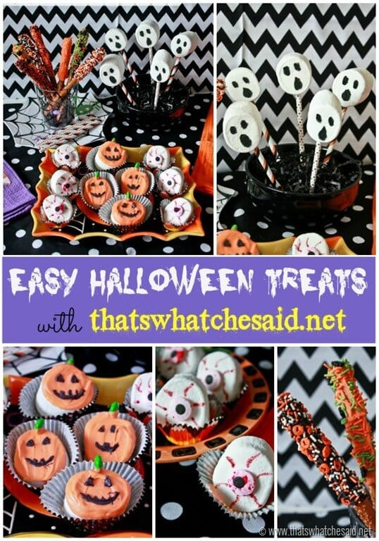 Easy Halloween Treats with the help from Joanns & Wilton