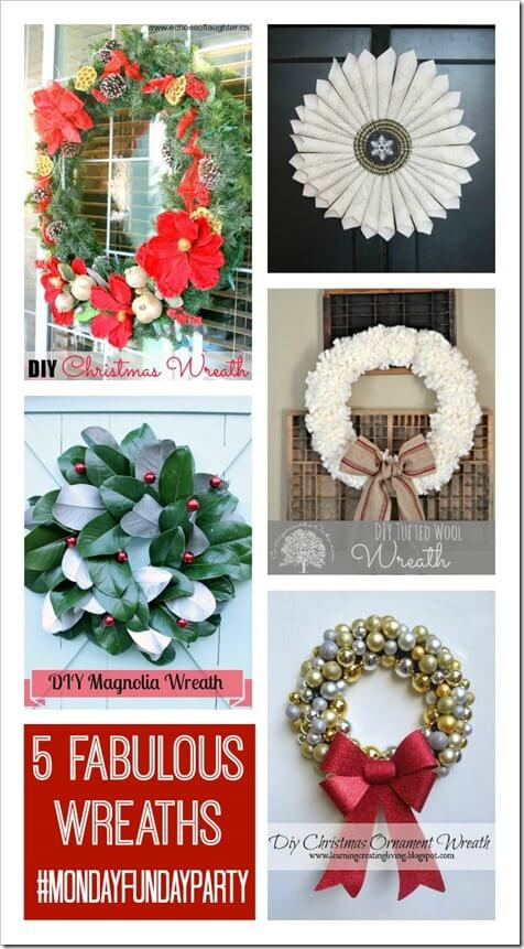 5 Christmas Wreaths at thatswhatchesaid.net_