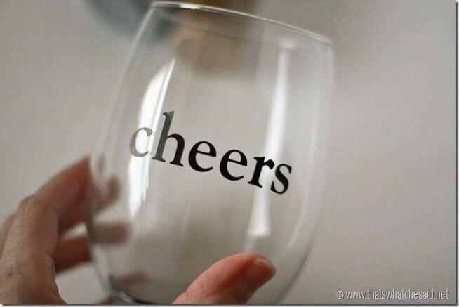 Dot Handpainted Wine Glasses
