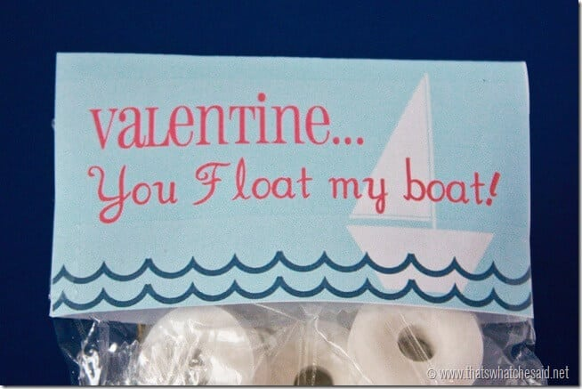 Free Valentine Printable at thatswhatchesaid.net